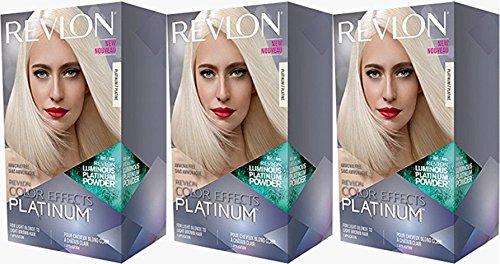 Revlon Colorsilk Color Effects Highlights, Platinum, 3 Count