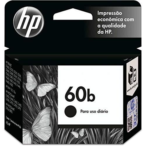 Cartucho HP 60B Preto Original (CC636WB)