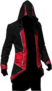 US Size Multicolor Killer Cosplay Coat Kenway Hoodie/Jacket