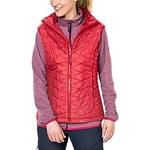 Jack Wolfskin Womens/Ladies Glen Vest Water Resistant Gilet Bodywarmer:Hashflur