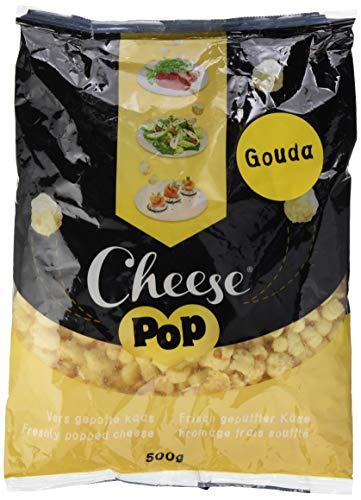 Cheesepop Gouda, 100% gepuffter Käse. überraschend knusprig & luftig!, 1er Pack (1 x 500 g), 125