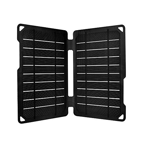Renogy Portable E.Flex Monocrystalline 10W Solar Panel with USB Port for Charging, Hiking and Biking