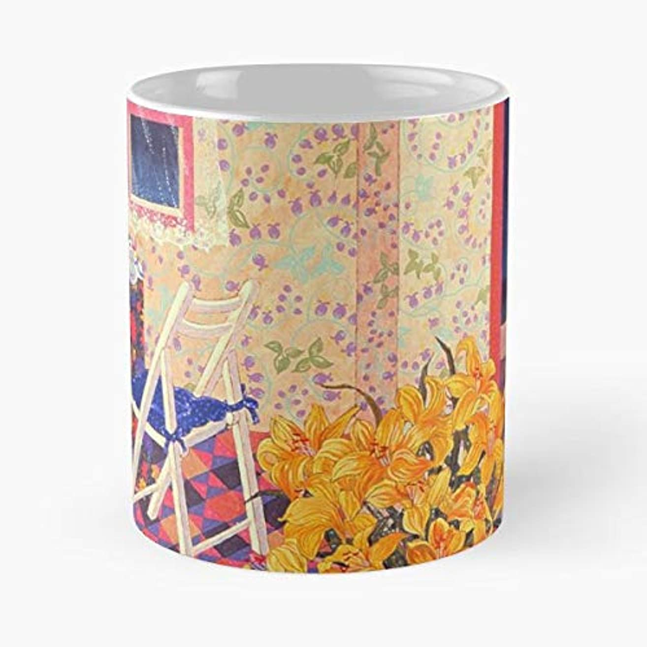 Asia Chinese Japanese Oriental - Coffee Mugs Unique Ceramic Novelty Cup For Holiday Days 11 Oz.