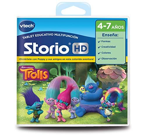 VTech- Cartucho para Storio, Trolls (3480-271022) , color/modelo surtido