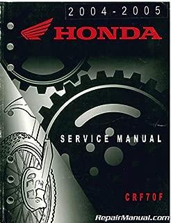 U61GCF51 Used 2004-2005 Honda CRF70F Service Manual