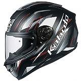 オージーケーカブト(OGK KABUTO)バイクヘルメット フルフェイス AEROBLADE5 GO(ゴー) フラットブラック (サイズ:M) 586911
