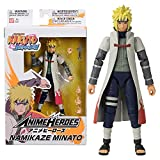 อะนิเมะวีรบุรุษอย่างเป็นทางการ Naruto Shippuden Action Figure - Namikaze Minato - Poseable Action Figure พร้อมมือและอุปกรณ์เสริม 36905
