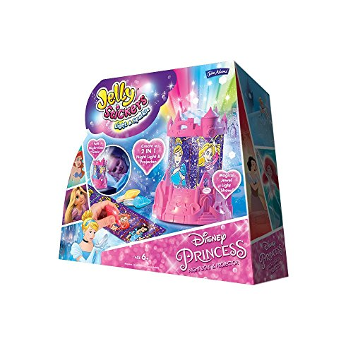 John Adams Veilleuse et projecteur Disney Princess Multicolore