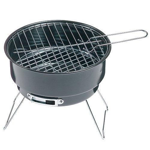 51q66Qqz9AL - elasto Grillset Holzkohlegrill Barbecue Reisegrill Holzkohle mit Kühltasche im Deutschland-Design Isoliertasche