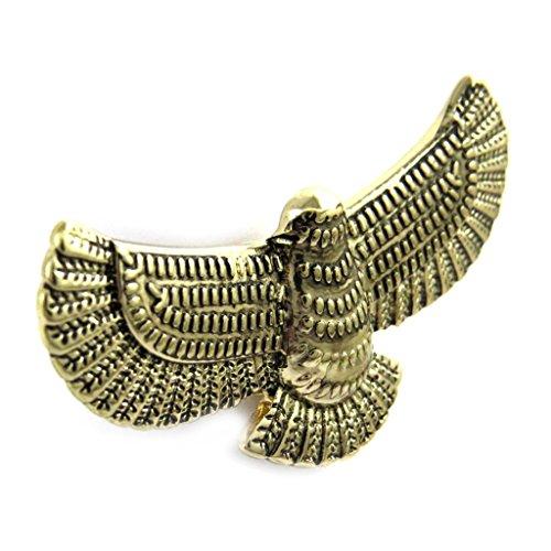Les Trésors De Lily L7936 - Designer ring 'Aigle' goldenen alters.