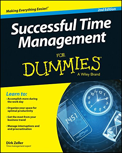 Compare Textbook Prices for Successful Time Management For Dummies 2 Edition ISBN 9781118982662 by Zeller, Dirk