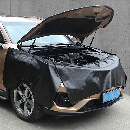 Rupse Kotflügelschoner Matratze 3 Stück, Kotflügel Schoner Matte Magnetisch Kupplung Autoreparatur Kotflügel Schutzblech für Schutz Reinigung Auto allgemein/SUV