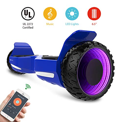 Best Deals! HYPER GOGO Hoverboard 6.5inch 3D Wormhole Hoverboards,UL2272 Certified Self Balancing El...