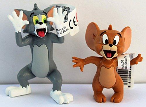 Comansi Spielset Tom & Jerry lachend - Größe ca. 5,5 - 7,0 cm