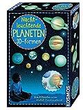 KOSMOS 678012 Nachtleuchtende Planeten, 3D-Formen, Wandsticker für das Kinderzimmer, Experimentierset
