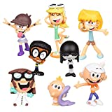 Bulex The Loud House Figure 8 Pack 4-Inch Action Figures