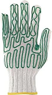Wells Lamont 133791 Whizard Slip guard Left Hand Heavy Duty High Performance Fiber and Stainless Steel Cut Resistant Gloves with Standard Cuff and Polyurethane Coating, Small