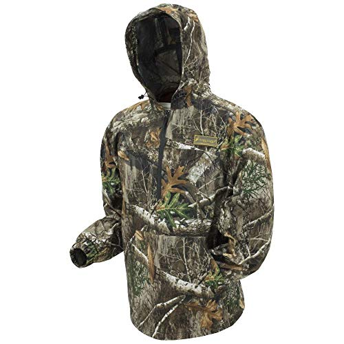 FROGG TOGGS Dead Silence Brushed Camo Pullover Hoodie, Realtree Edge, Size Large Sweat à Capuche brossé Motif Camouflage imperméable, Homme