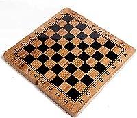 チェスセット折りたたみ木製インターナショナルチェスセットピースセットボードゲーム面白いゲームチェスマンコレクションポータブルボード旅行ゲームポータブル大人キッズゲームトラベ