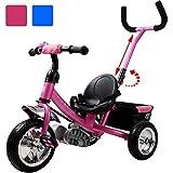 Dreirad Kinderdreirad Fahrrad Raceline Kinder Kleinkinder Baby | Sicherheitsgurt | abnehmbare...
