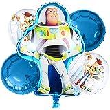 Toy Story Decoración de fiesta de cumpleaños Niños Decoración de cumpleaños con globos de Toy Story para decoración de niño