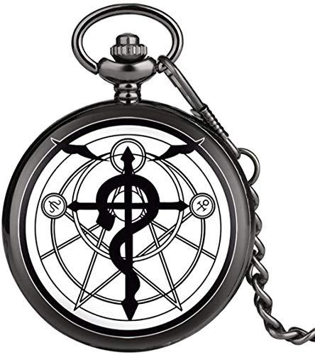 Collar para mujer Hombre Reloj de bolsillo Mujer Colgante Relojes para hombre Collar Reloj Longitud total de la cadena Aproximadamente 30 cm Diámetro Aproximadamente 4.8 cm Espesor Aproximadamente 1