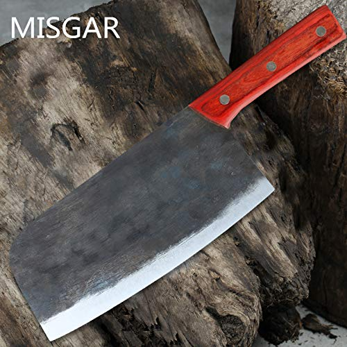 Best Quality Kitchen Knives MISGAR Handmade Kitchen Knives Carbon Steel Chinese Style Chef Slice Meat Vegetable Multifunctional Knife