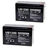 UPG UB1280I Sealed Lead Acid Batteries (2 Pack)