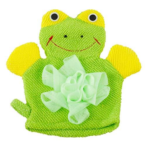 Gants de bain pour enfant en forme d'animal doux pour bébé