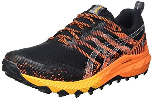 Asics Gel-Trabuco 9 G-TX, Trail Running Shoe Hombre, Black/Sheet Rock, 44 EU