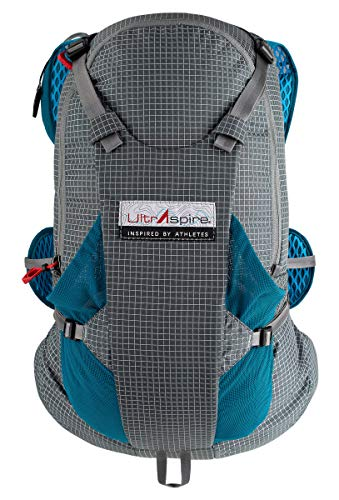 Ultraspire Bryce XT Extreme Line - Mochila de hidratación, Universal (Chest Size: 28″-48″), Emerald Blue
