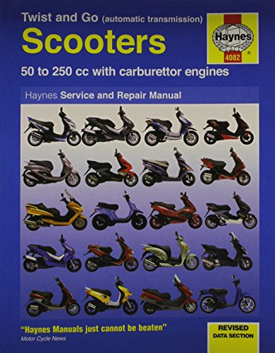 Twist and Go Scooter Service and Repair Manual (Haynes Motorcycle Manuals)