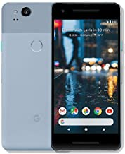 Google Pixel 2 64GB, Google Unlocked Smartphone, Kinds Blue (Renewed)