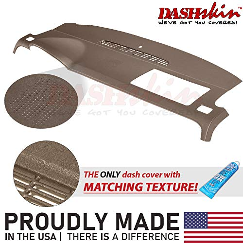 DashSkin Molded Dash Cover Compatible with 07-14 GM SUVs w/Dash Speaker in Cashmere (USA Made)
