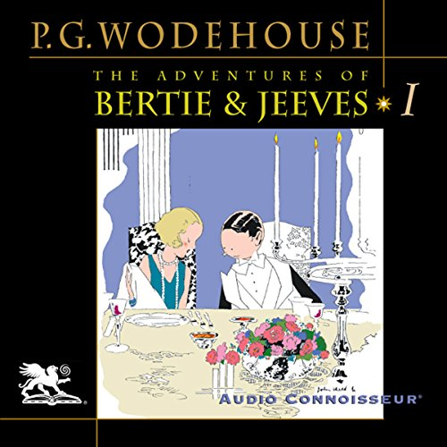 The Adventures of Bertie and Jeeves audiobook cover art