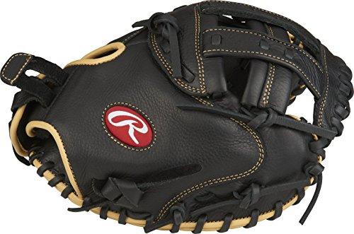 Rawlings Shut Out Softball Regular Modified Pro H Web 33' Catcher's Mitt,Black- Catchers Mitt