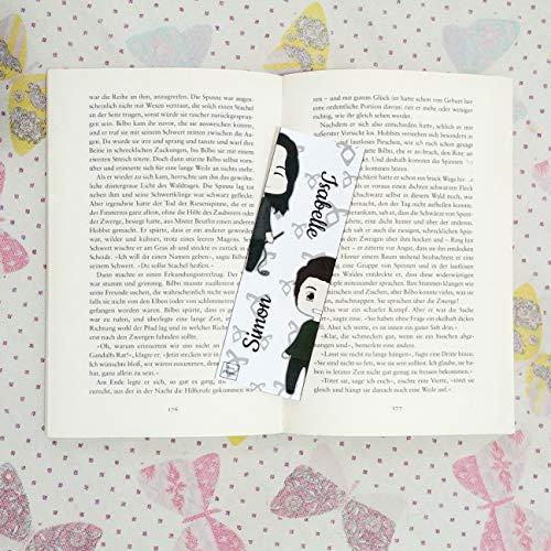 Lesezeichen 5 cm x 15 cm - Gedruckt auf seidenmatt Fotopapier 150 gr