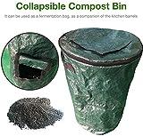 Zoom IMG-1 xmy pieghevole compost bin yard