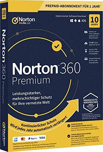Symantec NORTON 360 PREMIUM 75GB GE