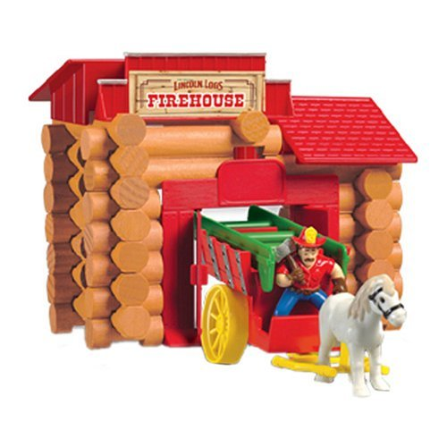 K'NEX Lincoln Logs: Frontier Firehouse...