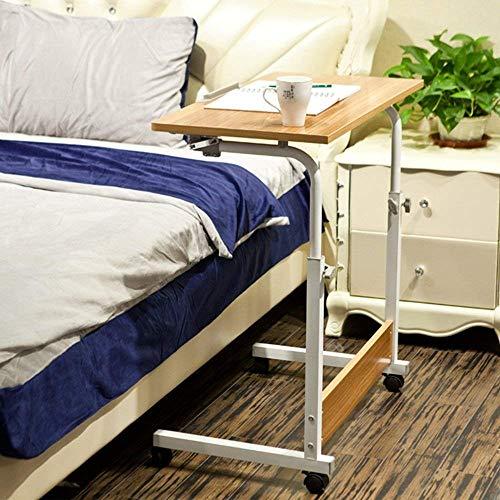N/Z Living Equipment Laptop Computer Stand Portable Desk Adjustable Height Study Mobile Bedside Table