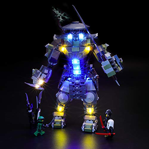 BRIKSMAX Led Lighting Kit for Masters of Spinjitzu: Oni...