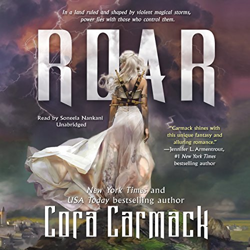 Roar audiobook cover art