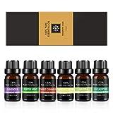 ZeLight Aceite Essenciales para Difusor,100% Puro Natural Aromaterapia Aceite Aromático para Humidificador y Difusor 6 * 10ml Masaje Oils