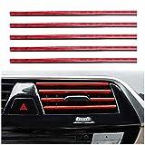 BOYUNLE 20 Pezzi Strisce Decorative per Bocchetta Dell'aria Dell'auto, a forma di U, S...