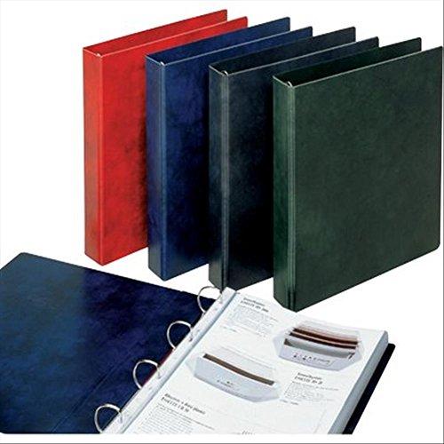 Esselte Raccoglitore a 4 anelli, Formato A4 Maxi, Dorso 4.6 cm, Cartone rivestito in PVC, Nero, Prestige, 390551130