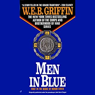 Men in Blue audiobook cover art