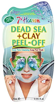 7th Heaven Dead Sea & Clay Peel-Off Face Mask from Montagne Jeunesse