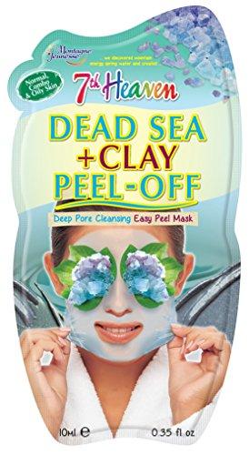 7th Heaven Dead Sea & Clay Peel-Off Face Mask