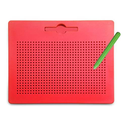 kdjsic Magnetic Clipboard Zeichnung Pen Ball Perlen Compressed Magnet Learning Notebook Graffiti Pad Kinderspielzeug Geschenk